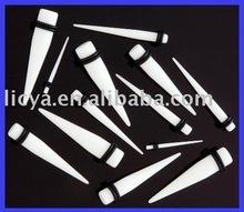 Acrylic Body Jewelry,UV White Stretcher