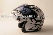 DOT open face helmet
