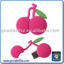 OEM Fruit Cherry USB Flash Drive