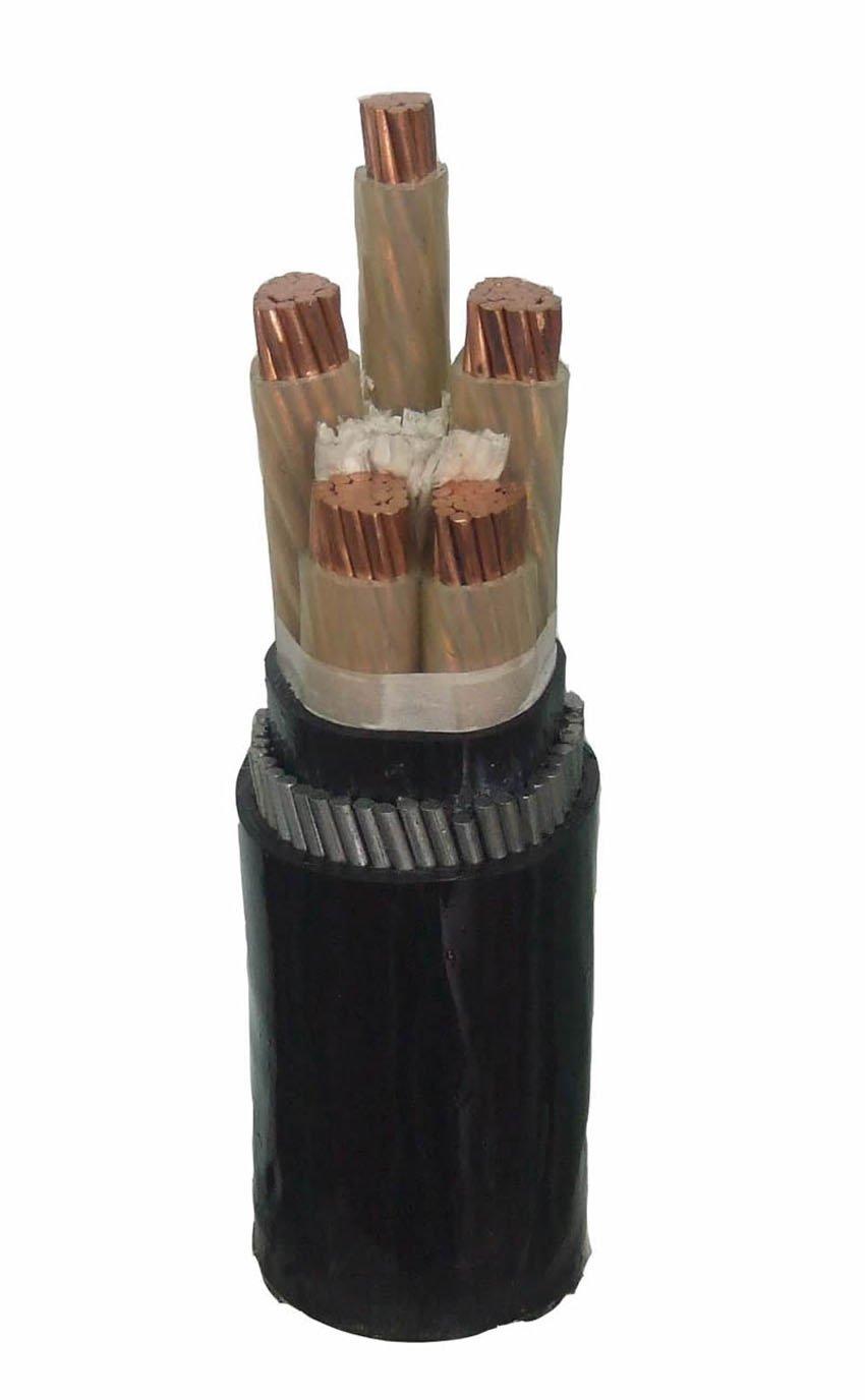 CABLE MULTICORE STRANDED COPPER XLPE SWA PVC SHEATH 4C