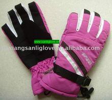 Winterski der Frauen sports Handschuhe mit der Imprägnierung