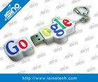 Custom Made Logo USB Flash Drive, Logo Embossed In Mold