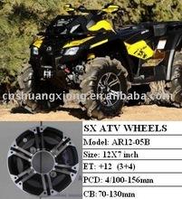 SX 12 inch atv rims for Polairs honda yamaha AR12-05B