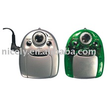 fm auto scan gift mini radio with earphone and light
