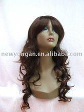 Beauty style kanekalon synthetic hair lady wig