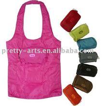 foldable nylon shopping bag