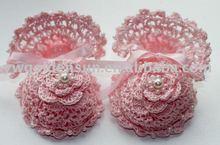 Fashion New born Baby Handmade Crochet Toddler Shoes ( 4184 )