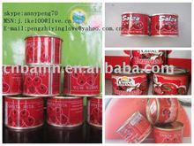 tomato paste 70g to Africa