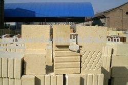 High alumina bricks for hot blast furnace