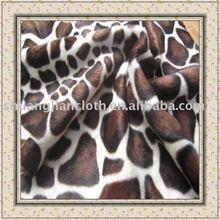 100% polyester velboa fabric