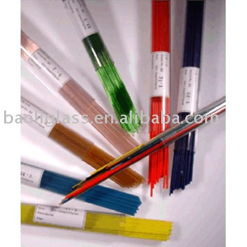 fusible glass rod and glass stringer (COE85 COE90 COE96)
