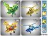 Intellective 3D plane puzzle IZH97888,intellective puzzle toy