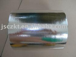 aluminium film laminated to PP/PE fabric