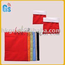 Colourful velvet soft cloth case bag for Ipad