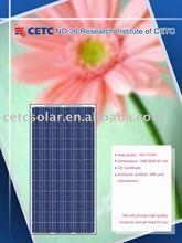 185W Photovoltaic panel (125 cells)