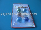 transparent glass marbles blister packing