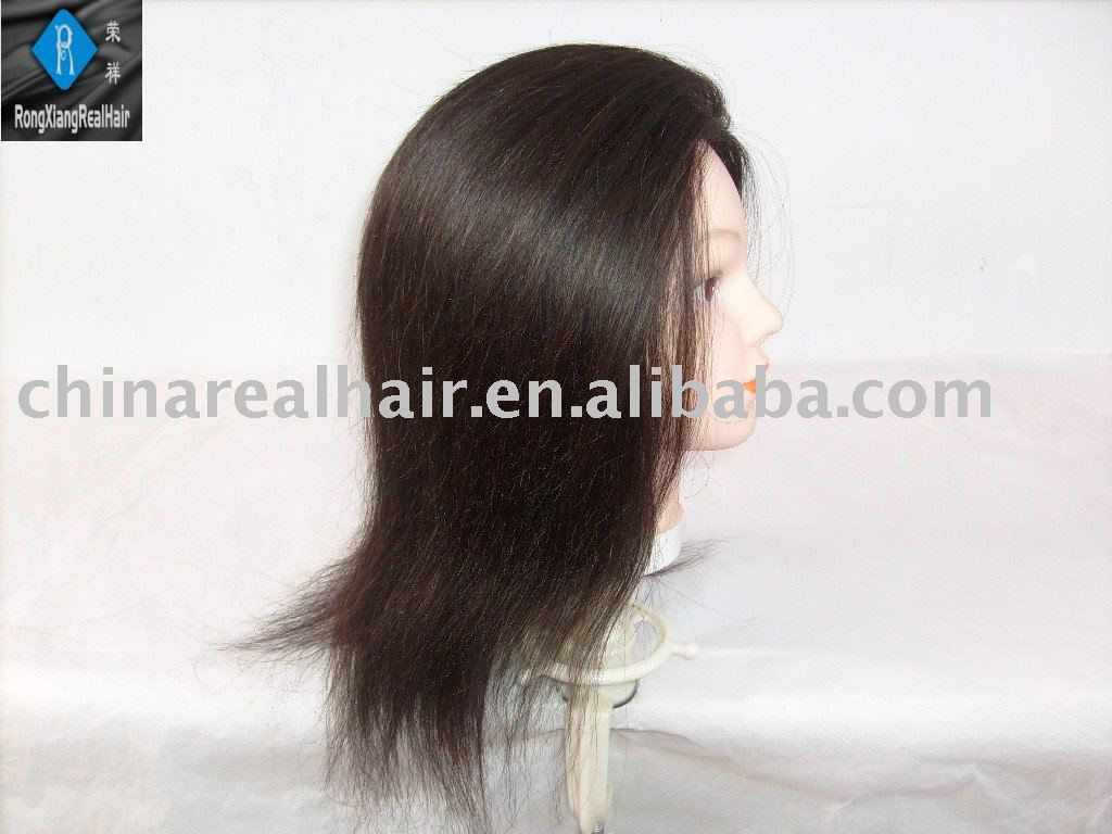 see larger image  100 human hair training mannequin head wig