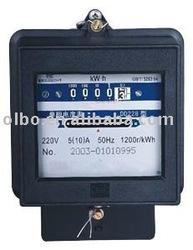 DD28 Single phase active & reactive energy Mechanical Type watt-hour meter