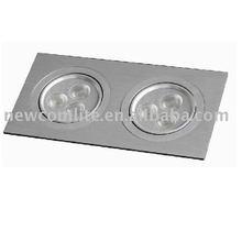 LED ceiling light (6W square ceiling light)