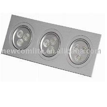 LED ceiling light (9W square ceiling light)