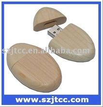 Wooden USB Mass Storage Driver, Maple USB Disk for Promotional, USB Drive 32GB