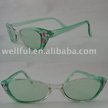 2012 transparent material kid's sunglasses K4066