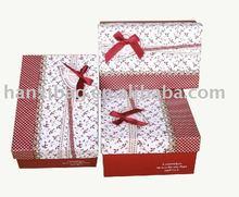 Newest Pattern! Fashion carton paper box small quantity accept