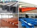 Estructura de acero de materiales