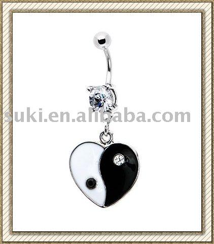 Yin Yang Black and White
