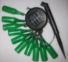 solar led light chain with beer bottle