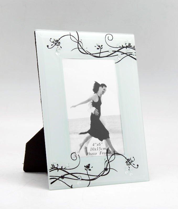 Glass Photo Frame Coaster Set - ShopWiki