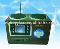 MD-V9 mini amplifier portable media speakers