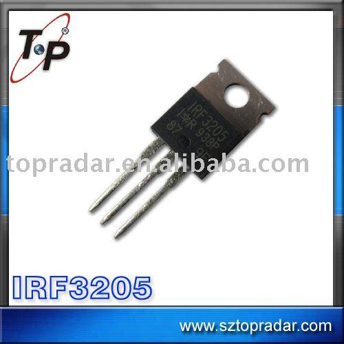 irf3205 del transistor