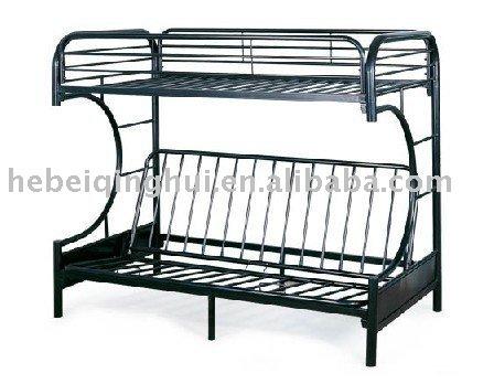 black futon metal bunk bed frame view bunk bed gaohua