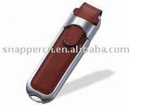 Mini leather USB