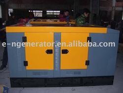 Low fuel consumption genset