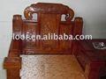 Anti- errosion y termitas- a prueba de caoba de madera silla