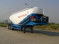 Cement Semi-trailer Powder Semi-trailer Loading 55T