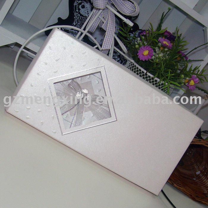 unique fade diamond wedding decorations in paper box T080