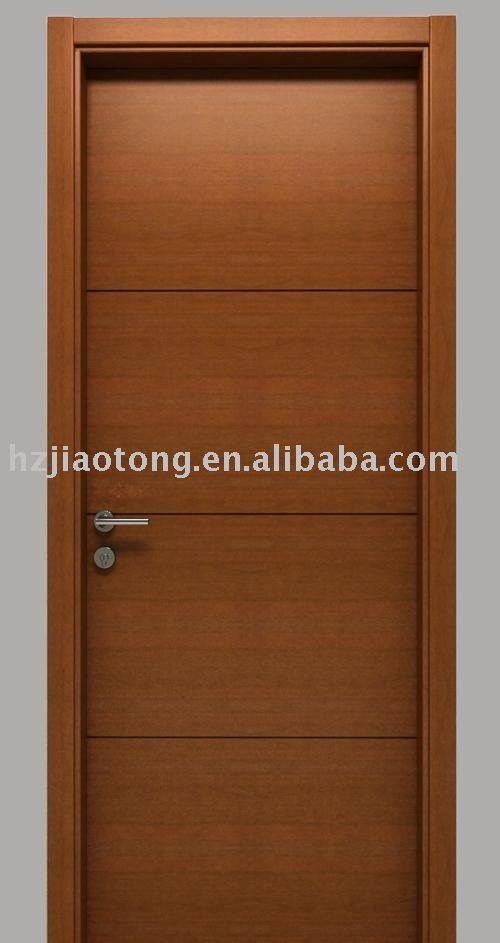 Puertas Para Baño De Madera:puerta de madera maciza-Puerta-Identificación del producto: