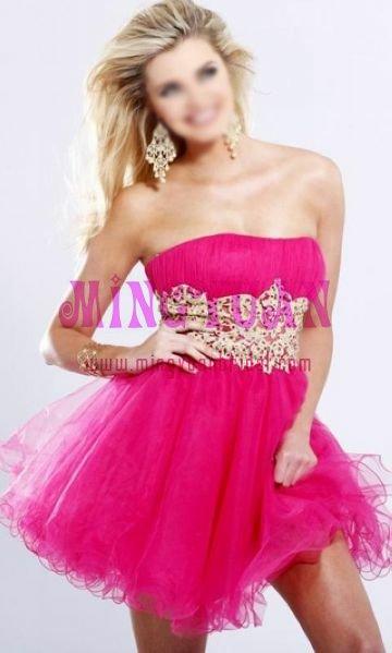 Pink Short Cocktail Dresses - Ocodea.com