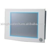 "17"" SXGA TFT LCD Celeron M Fanless Industrial Panel PC with 2 x PCI Slots"