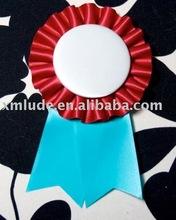 Bule color Award Ribbon rosette