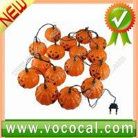 Halloween Pumpkin Light Up BlowMold Foam Jack Lantern