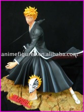 Bleach resin figures,plastic action figures