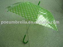 """23""""x8K straight umbrella as transparent as glass (TP028)"""