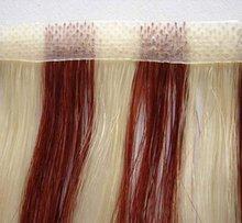 PU skin weft hair, 100% Natural human hair weft, Pu tape weft hair
