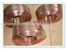 Galvanized flat silk