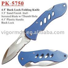 "(PK-5750) 4-1/2"" Pocket Knife /Folding w/plastic handle"