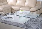 High glossy coffee table